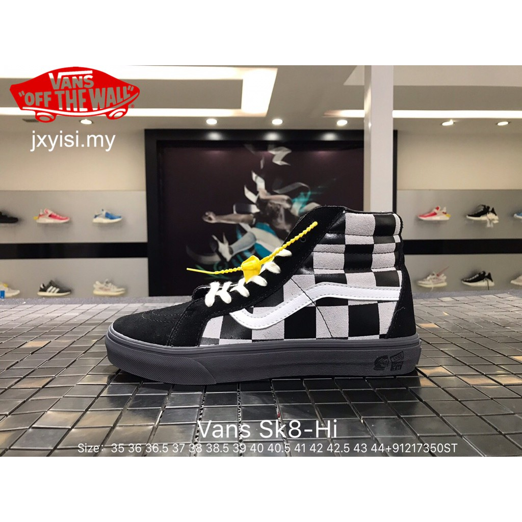 Vans SLIP-ON loafers Woman lattice sneakers Men Mickey Mouse couple shoes  man  7ccd80a6adc5