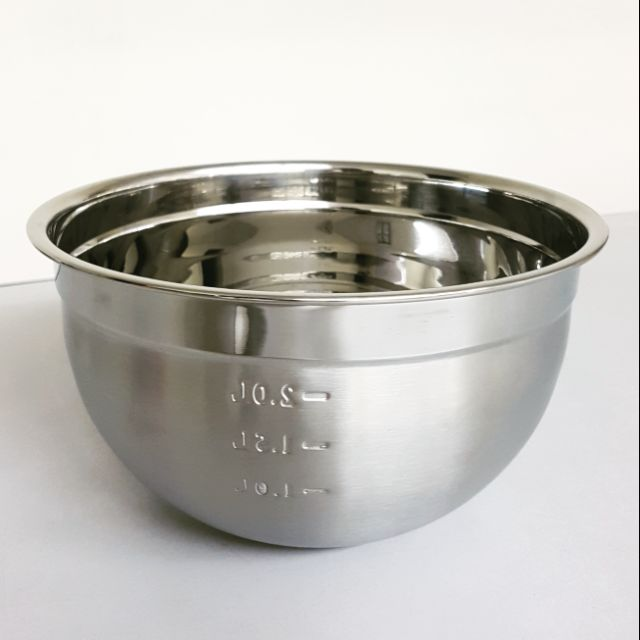 16/ 20/ 22/ 24 / 26 / 28/ 30cm S/Steel Deep Mixing Bowl