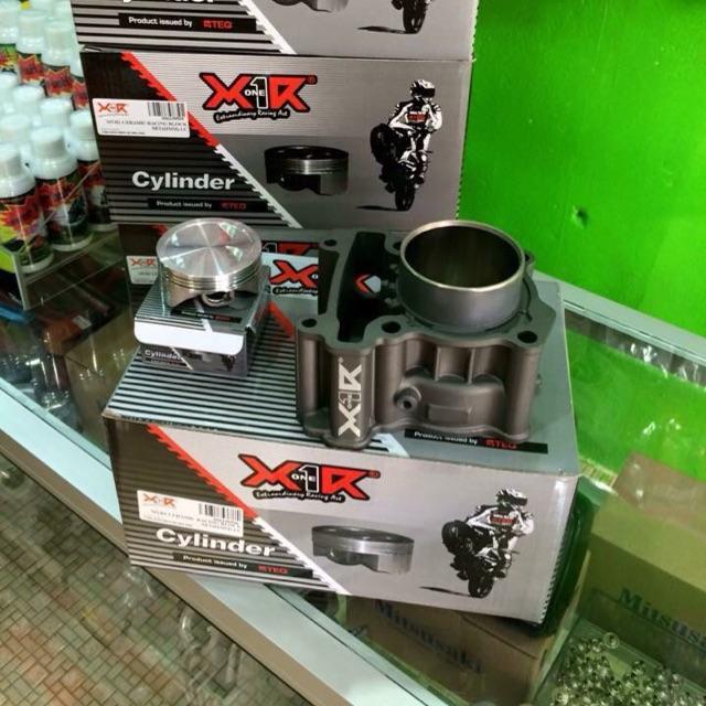 Blok X1R Lc135 Fz150 Ceramic 62mm Tahan Panas Long Distances Racing