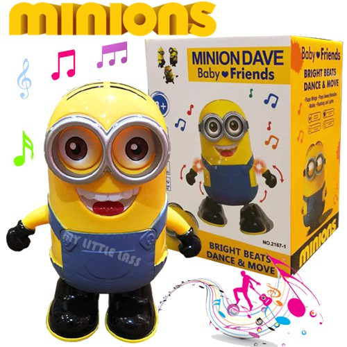 Cute Dancing Minion Battery Operated With Sound