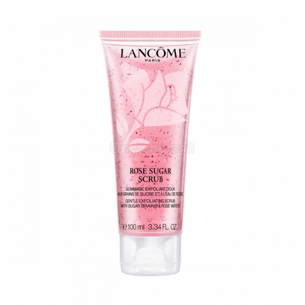 LANCOME Rose Sugar Scrub 100ml (With Free Gift)
