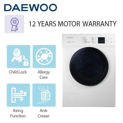 Daewoo Front Load 7KG Dryer Machine DWR-V700W