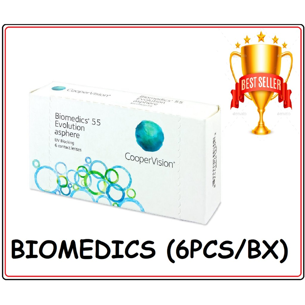 89ca43a3e7fa Coopervision Biomedics 55 Evolution - Monthly