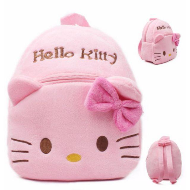 [ READY STOCK ]  Cute cartoon baby plush backpack mini school bag Children's gifts kindergarten boy girl stuffed bag