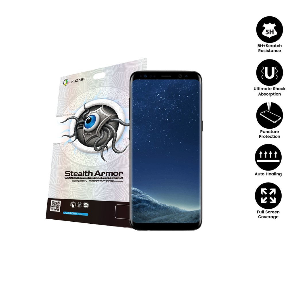 Samsung S8 ( G950 ) X-One Stealth Armor Screen Protector