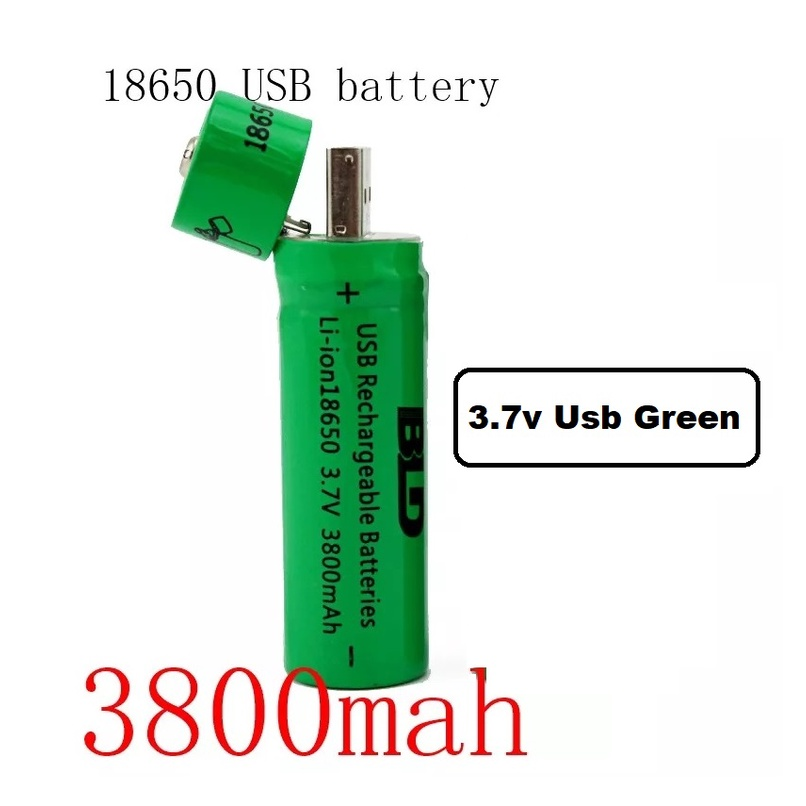 [ READY STOCK ]  18650 Battery 3.7V 2200 mAh Lithium Rechargeable Battery Charger Smiling Shark Bateri Pengecas Kitchen