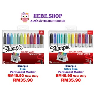Sharpie Stained Fabric Marker - Brush Tip | Shopee Malaysia