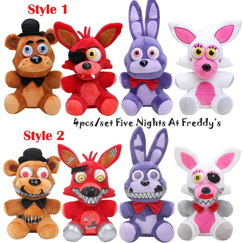 Koala Stuffed Animals Mini, 15cm Five Nights At Freddy S Toy Bear Bonnie Mangle Nightmare Freddy Foxy Bonnie Fnaf Plush Toys Doll Kids Toys Shopee Malaysia