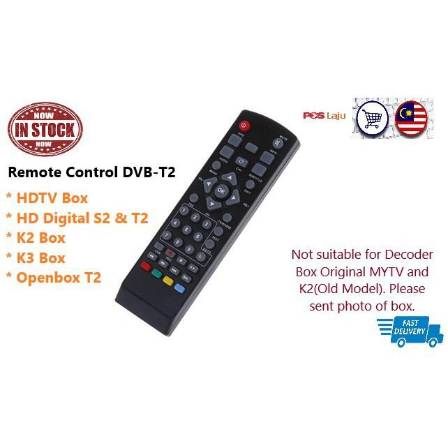Remote Control K2 K3 HDTV Fraskoo Megogo HD Digital Decoder