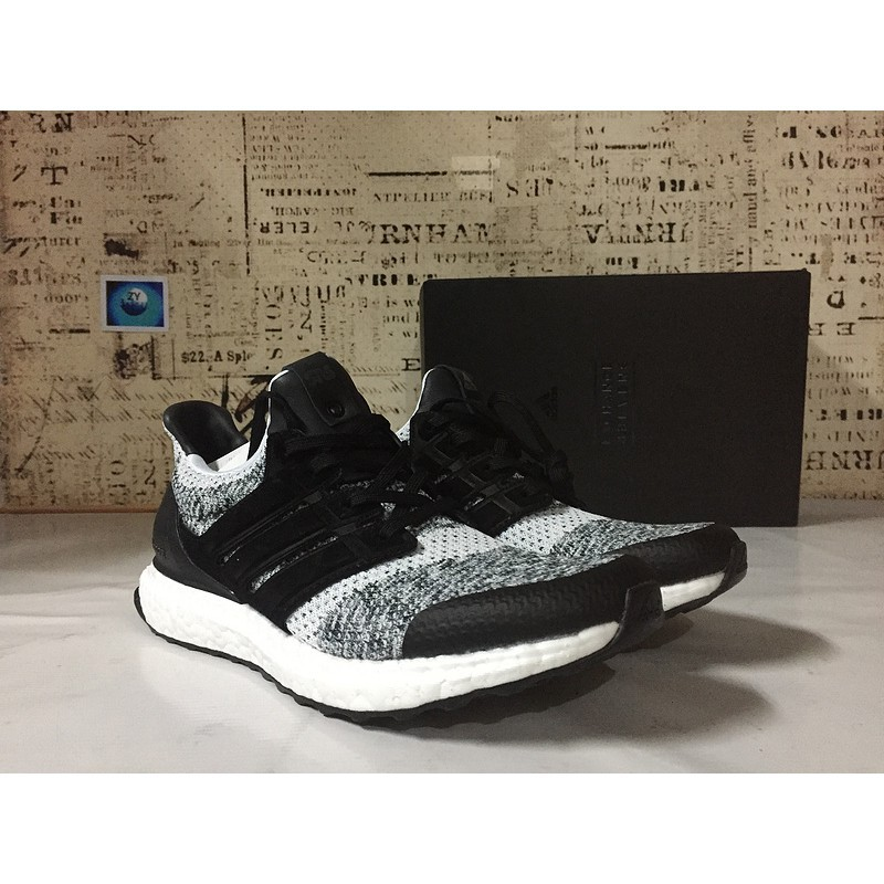 Discount Adidas Men's and Women's Ultra Boost UB 3.0 Core Black Running Shoes