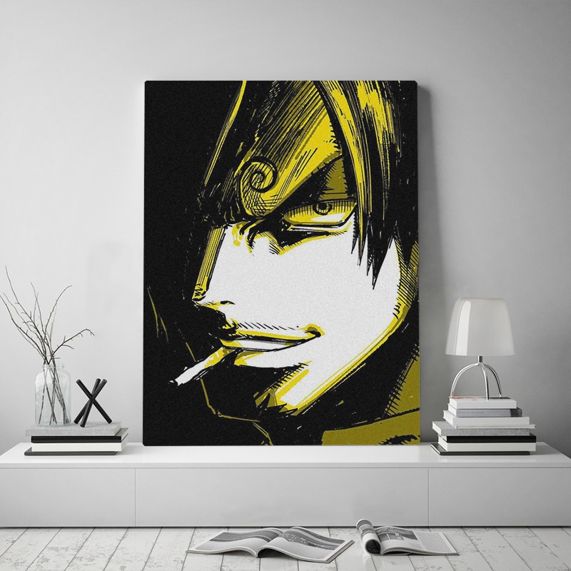 Vinsmoke Sanji One Piece Anime Canvas Poster Painting Wall Art Decor Living Room Bedroom Study Home Decoration Prints Shopee Malaysia