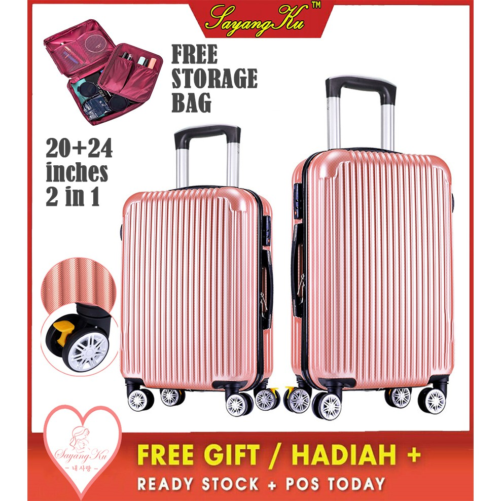 70c9c61b1 Apolo MD-215 Luggage Trolley Travel | Shopee Malaysia