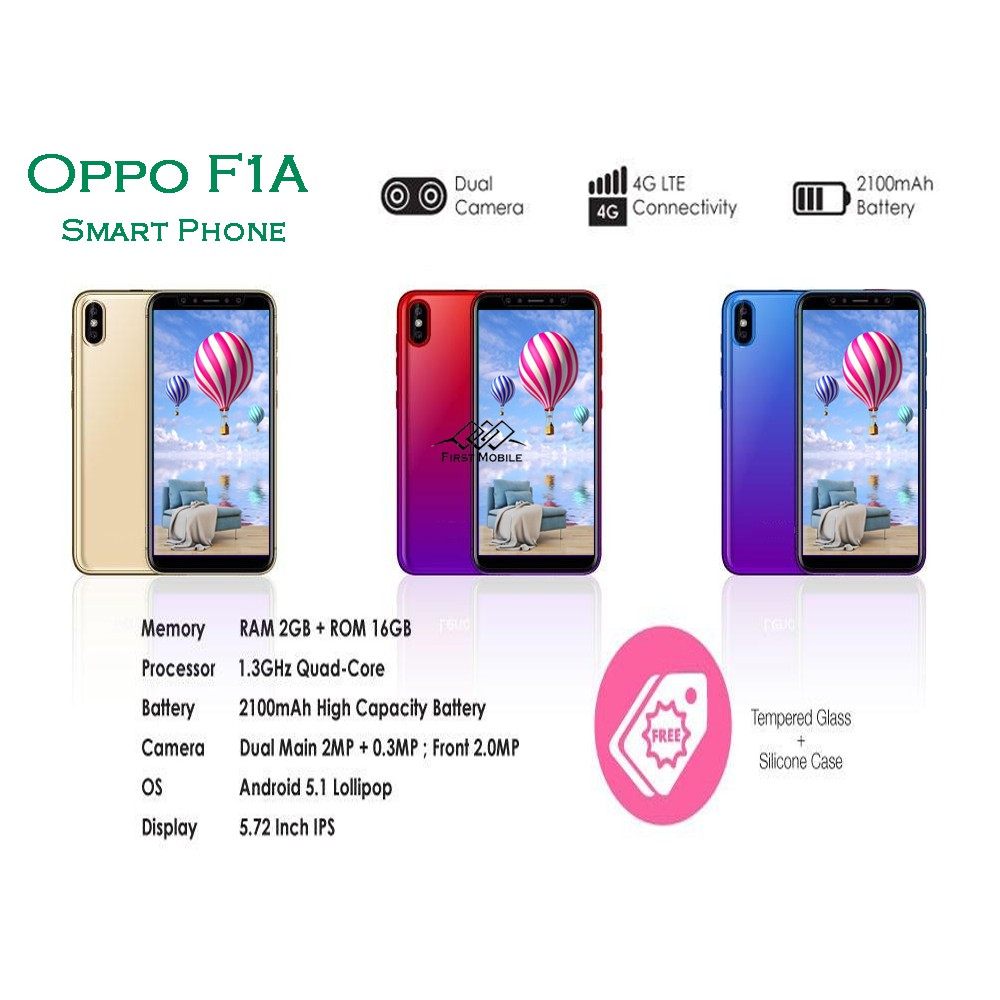 New Arrival Oppo F1A 4G Android Smart Phone