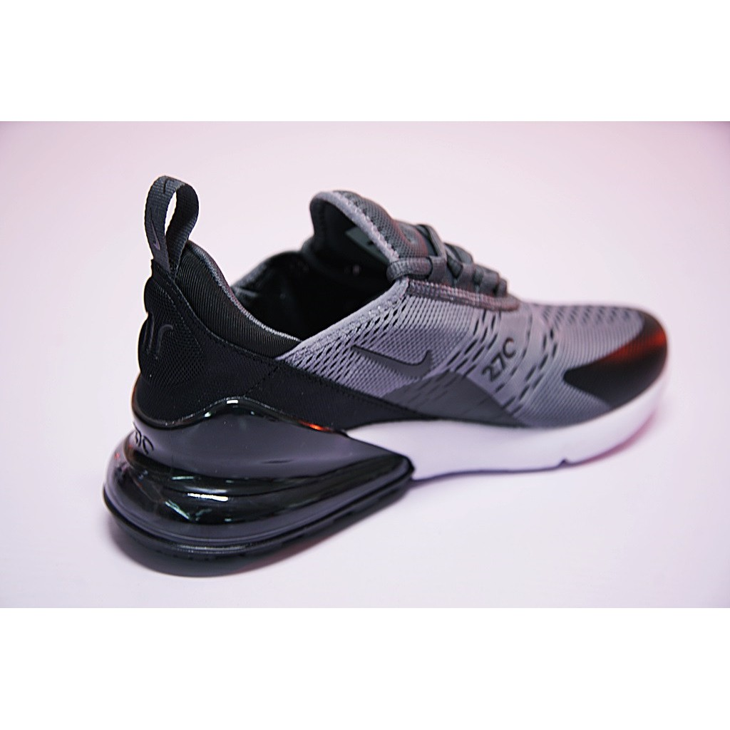 finest selection 8ff53 24989 Nike Air Max 270 Shoes Men Airmax 27c Flyknit Running Shoes Sport Sneakers  Grey