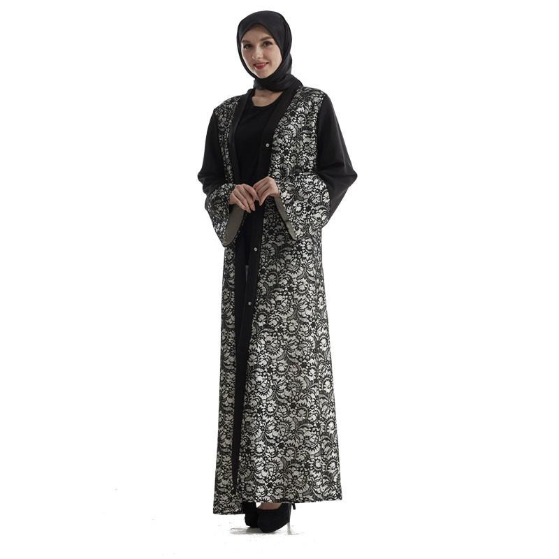 10e43a222d5 Maxi Dress Muslim Abaya Choir Robes Burqa For Women Clothes New Women Dress
