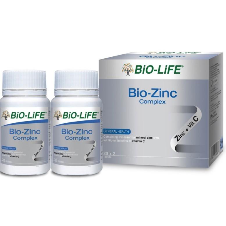 Bio-Life Bio-Zinc Complex 30\'s / 2x30\'s