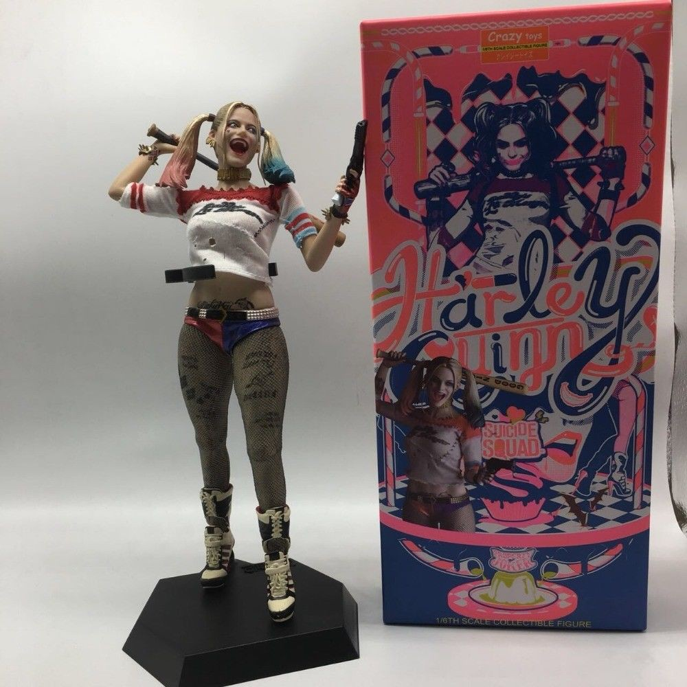 DC Crazy Toys Suicide Squad Harley Quinn 1//6TH Figure Real Clothes PVC Statue