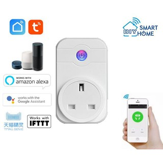 Smart DIY Wifi Socket Plug (Tuya Smart Life) | Shopee Malaysia