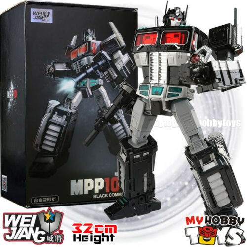New Transformers LegendaryToys LT-03B Black Optimus Prime MTCD ver Action figure