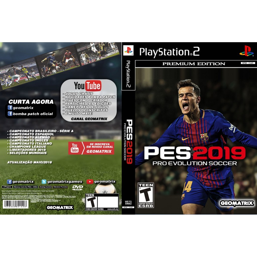 Ps2 Pes 2018 Shopee Malaysia 2019 Pc Original Steam Offline