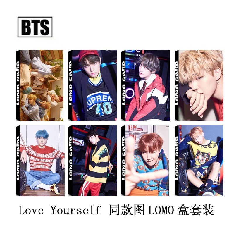 K-pop Bts Bangtan Boys Love Yourself Answer Pu Card Holder Exo Got7 Twice Wanna One Same Id Card Cover Holder Colours Are Striking Desk Accessories & Organizer Card Holder & Note Holder