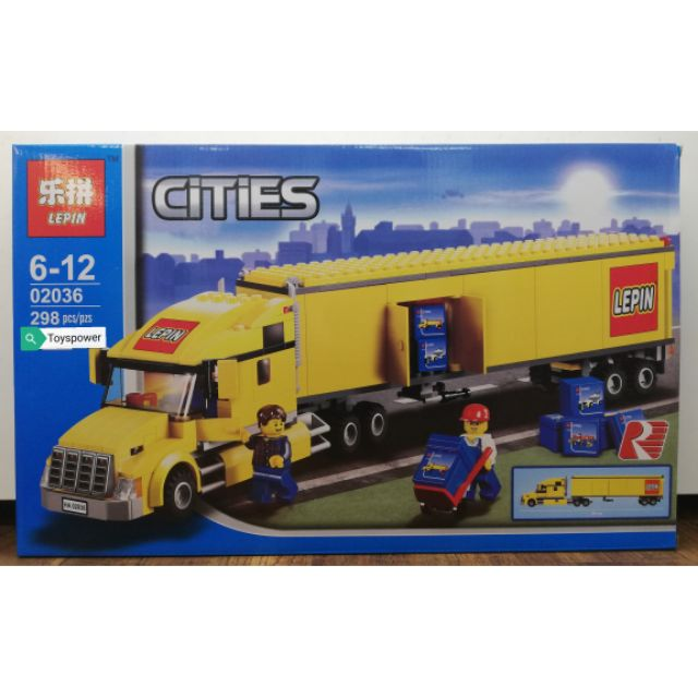 Lepin Cities 02036 Yellow Truck