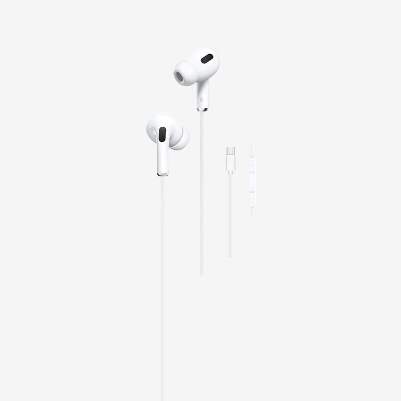 PAVAREAL E63/E63C/E63i Upg. In-Ear Headphones 3.5MM Jack / Type C Excellent Sound Quality Stereo HiFi HD Earphones Mic