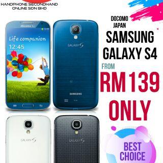 Samsung Galaxy S4 (original secondhand) Docomo original japan import