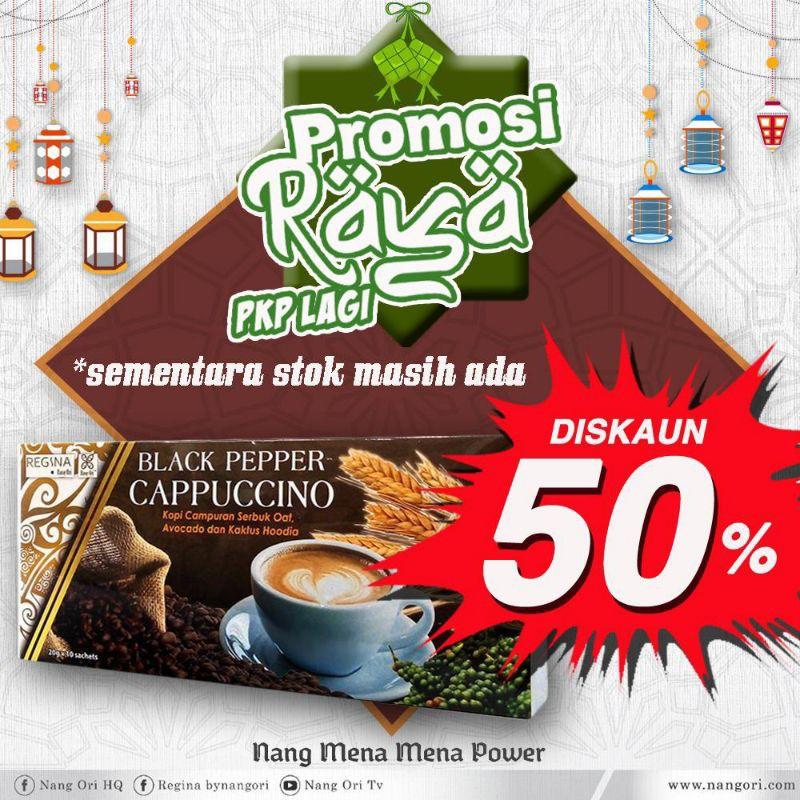 Black Pepper Cappuccino Drink