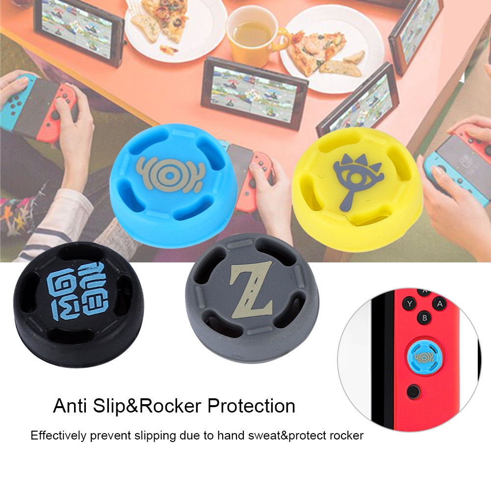 ❤ Slip Replacement Silicone Anti Joystick for Grip Cover Caps Switch/PS3/PS4