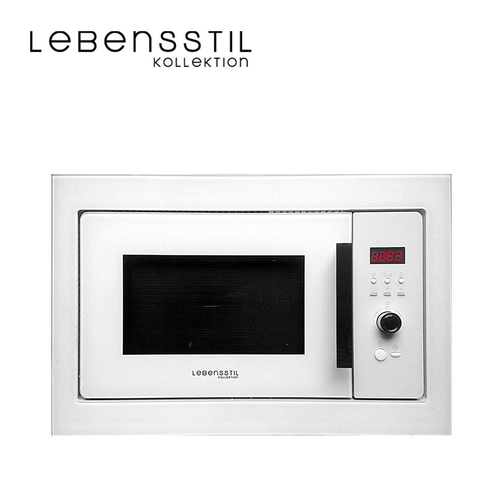 Lebensstil Kollektion Built In Microwave Oven LKMW-2503WD (White Glass)