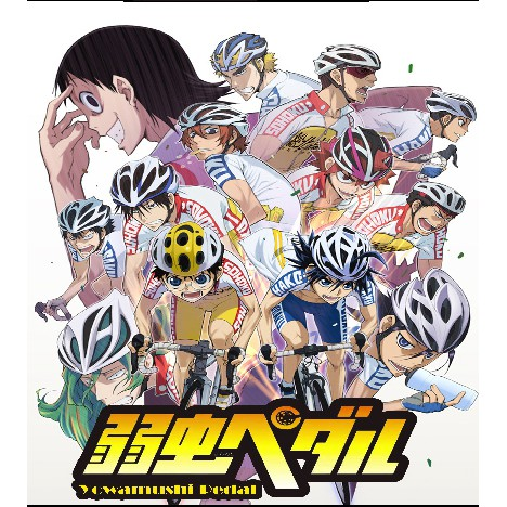 DVD Anime Yowamushi Pedal (full series)