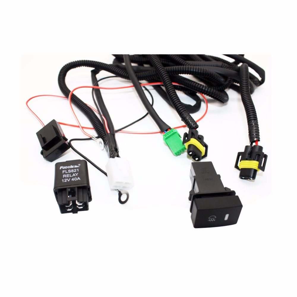 For Ford Focus Acura Nissan Wiring Harness Sockets Connector H11 Fog Light  Lamp archives.midweek.comMidweek.com
