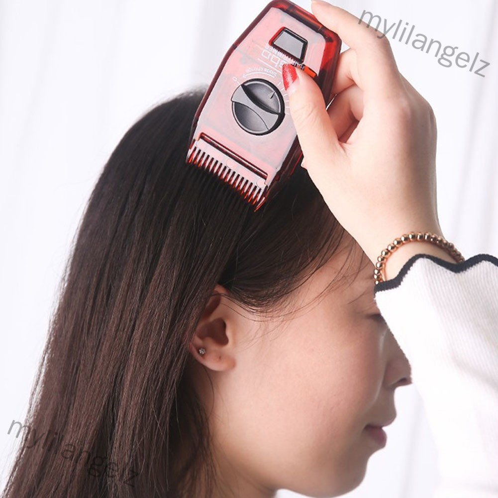 Mylilangelz Multi-function Manual Hair Trimmer Haircut Comb Hairy Corner Clipping (READY STOCK)