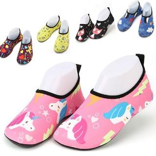 7e4d5ec6 Kids Swim Water Shoes Barefoot Aqua Socks for Beach Pool Surfing ...