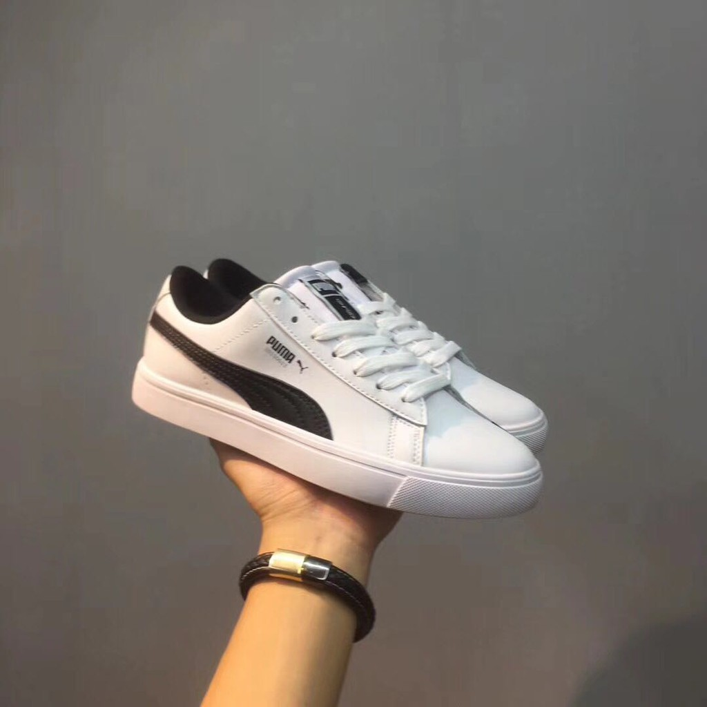the latest 669b6 39841 【READY STOCK】Puma x BTS Court Star Sneakers FREE PHOTOCARD white shoes
