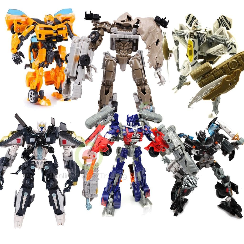 DIY Transformers Optimus Toy Bumble Bee Kids Action Figure Robots Unique Toys