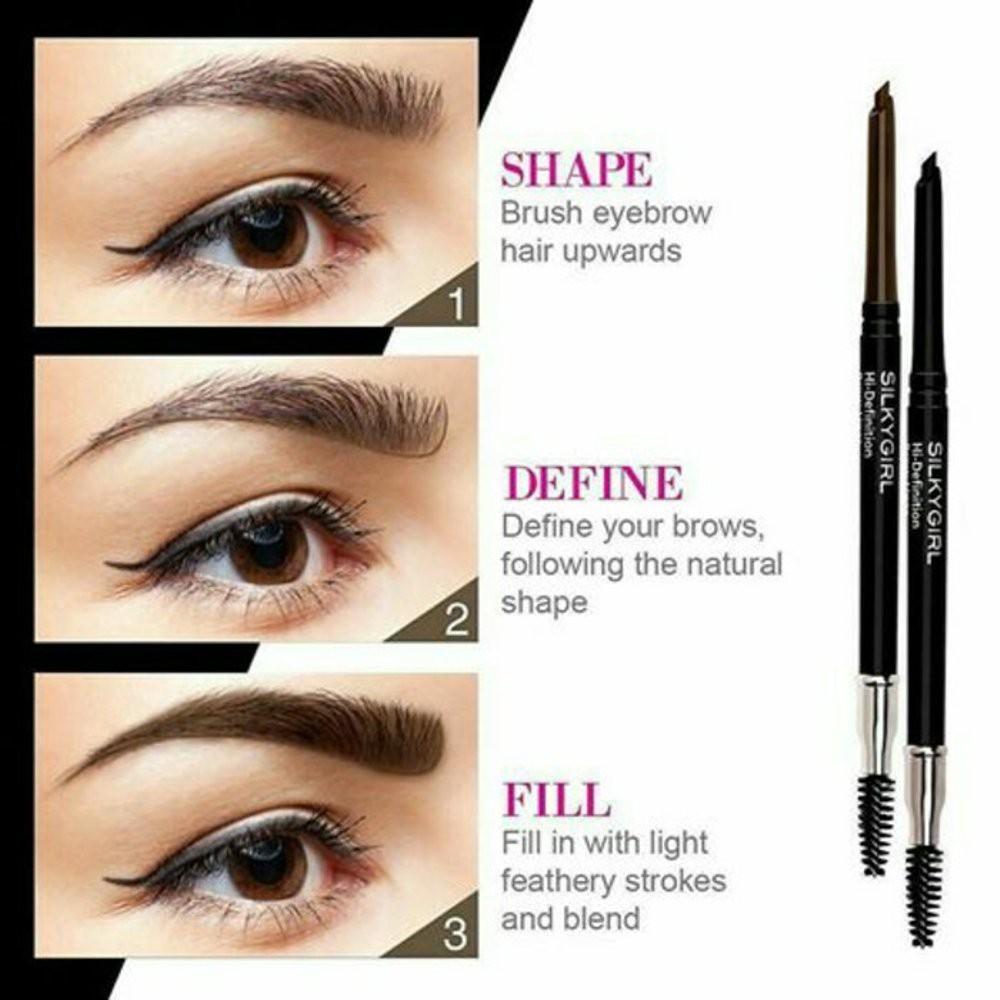 Silkygirl Hi Definition Brow Liner | Shopee Malaysia