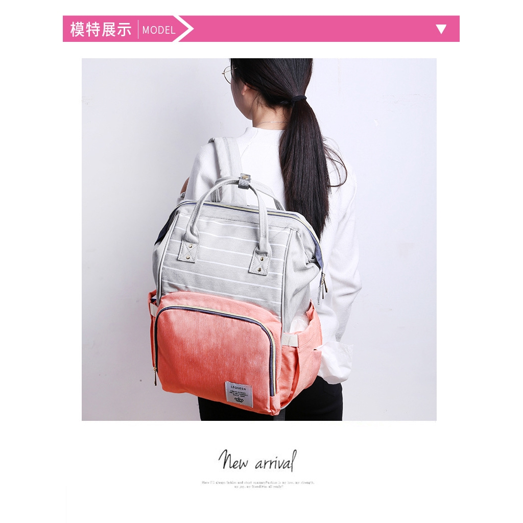 New Mummy Bag Backpack Multifunctional Oxford Cloth Fashion Backpack