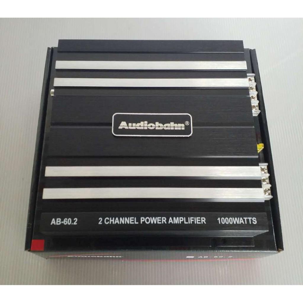 AB-60 2 Audiobahn 2 Channel Amplifier 1000watt