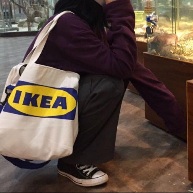 Ikea Tote Bag Men Women Unisex Hypebeast Street Style Fashion Hip Hop Tote  Bag  35a03197f8619