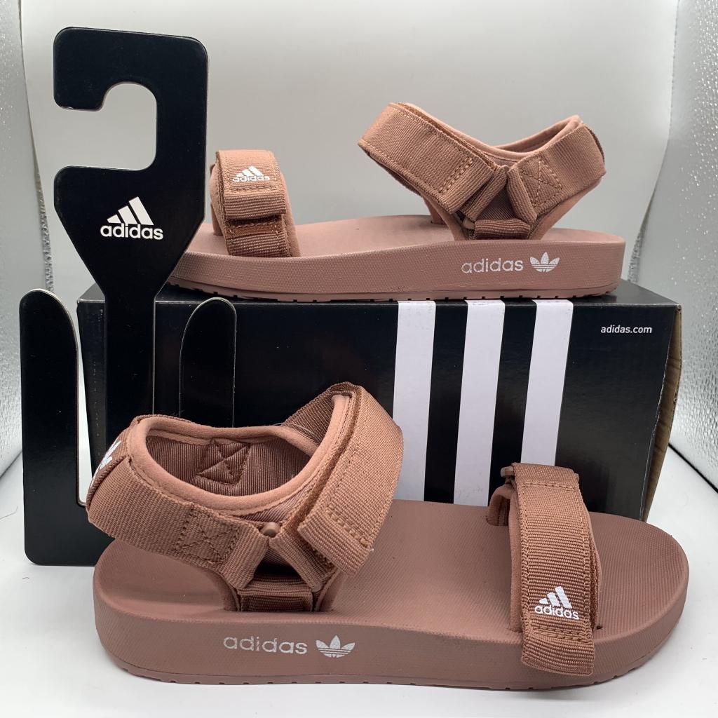 Women Beach Shoes Sandals Adidas Adilette Sandal W Summer Lightweight Sandals. Solid Color Sole Simple Logo35-40
