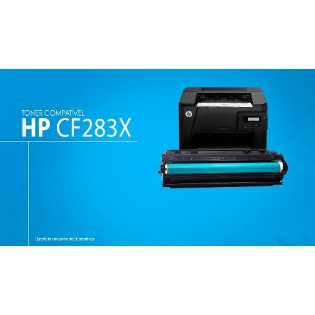 HP 83X 283X compatible 83A 283A HIGH CAP Toner M125 M127 M201 M225 cf283x  cf283a