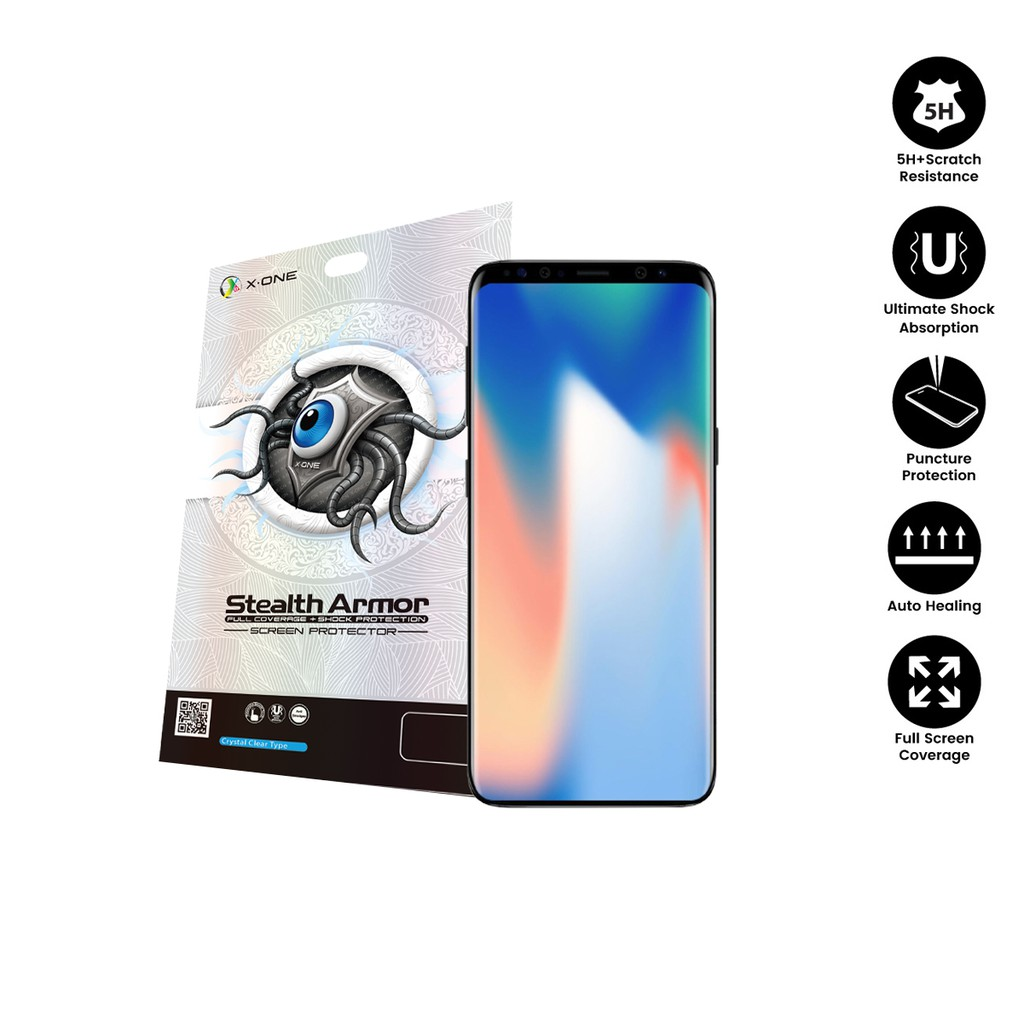 Samsung S9 ( G960 ) X-One Stealth Armor Screen Protector