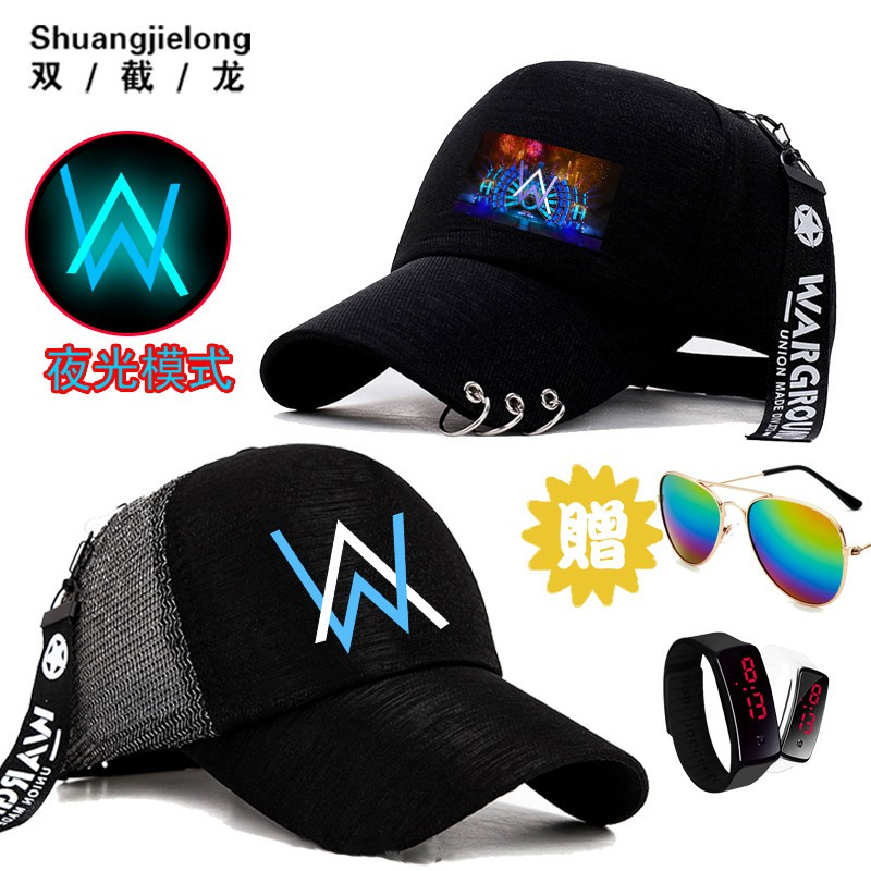 676ad8cd1 Alan Walker Alan Walker baseball cap hip hop DJ music student men and women  coup