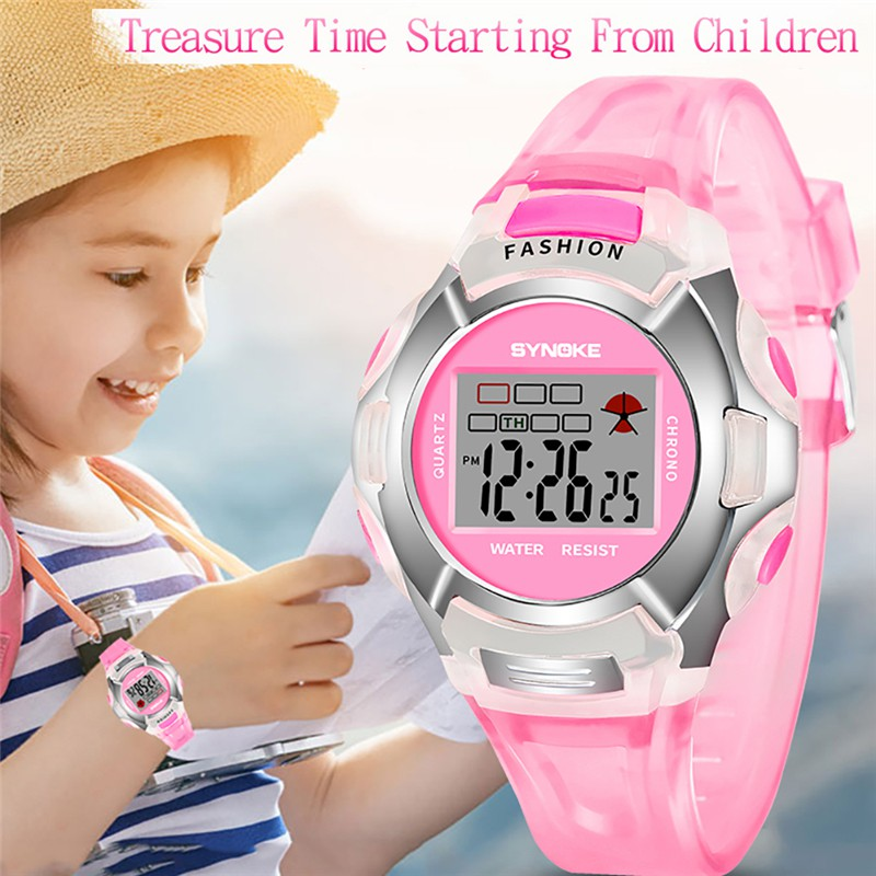 Children's Watches Initiative Disney Childrens Watch Frozen Fashion Classic Simple Kids Watch Luxury Brand Quartz Casual Leather Watch For Kids Children