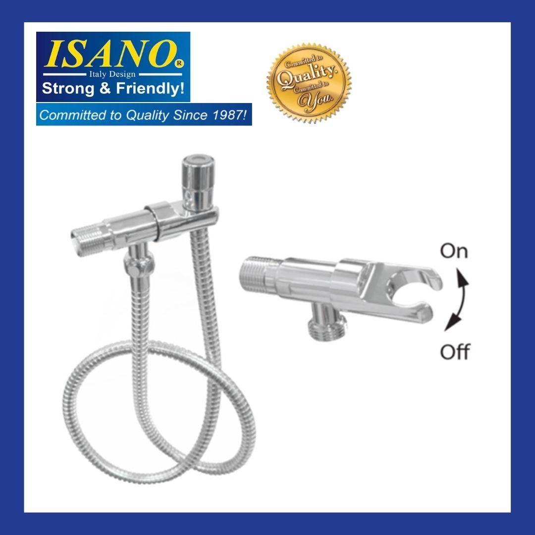 ISANO 1680AV Angle Valve c/w Spray Hose