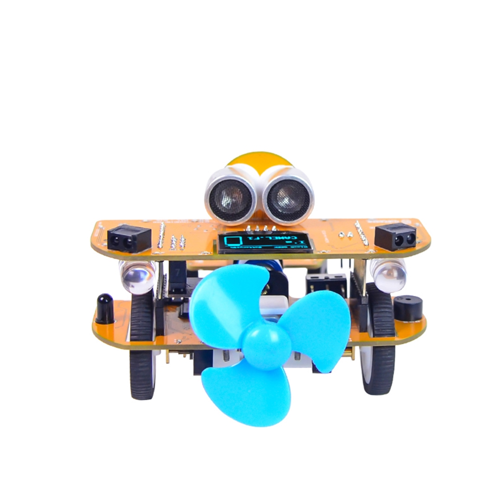 ⚫New⚫XIAO R RC Car Wifi Infrared Control Mixly STEAM Scratch Graphical  Robot Kit