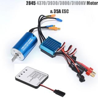 2845 Sensorless Brushless Motor+35A Brushless ESC für 1//12 1//14 1//16RC Autos