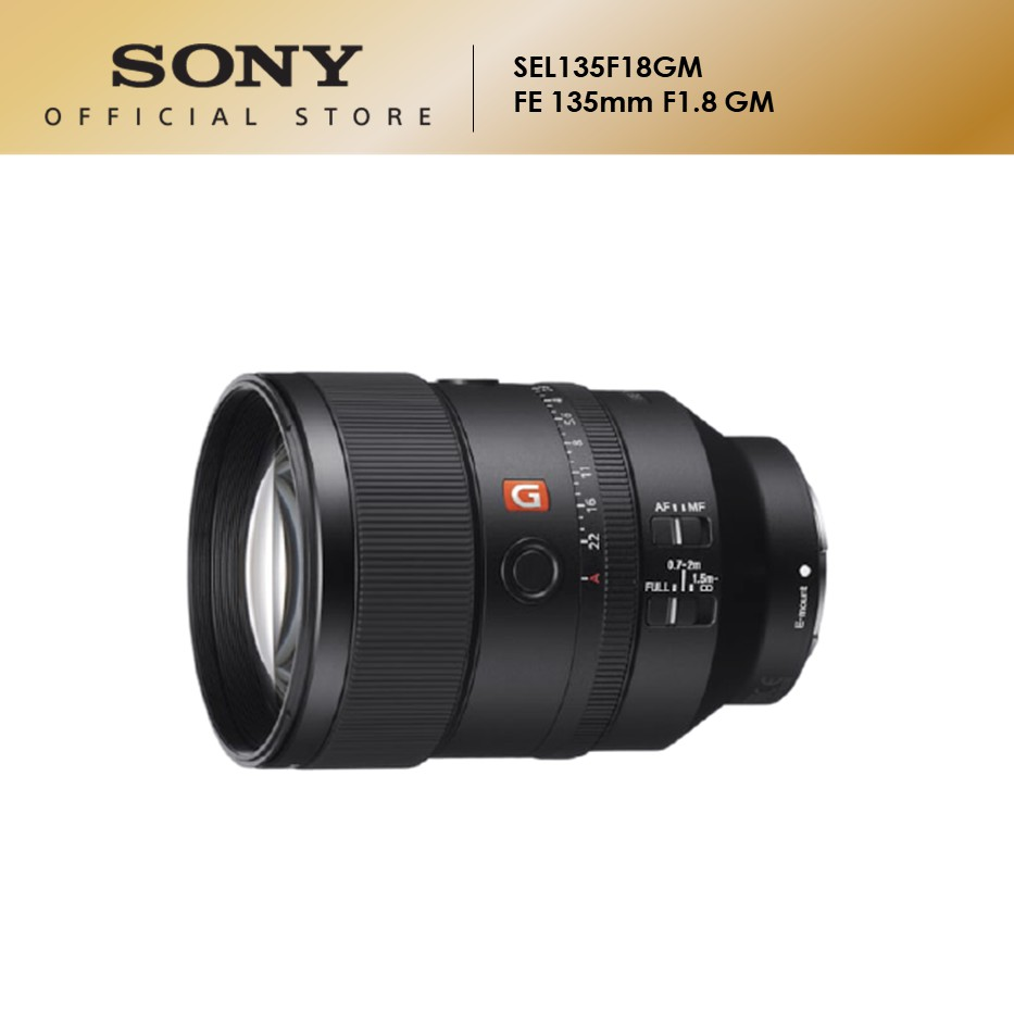 Sony SEL135F18GM Lens (FE 135mm f/1.8 GM)